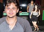West Hollywood, CA - Prince Jackson and girlfriend Remi Alfalah exit the Goal sports bar in West Hollywood to a group of fans waiting for autographs.\nAKM-GSI          October 2, 2015\nTo License These Photos, Please Contact :\nSteve Ginsburg\n(310) 505-8447\n(323) 423-9397\nsteve@akmgsi.com\nsales@akmgsi.com\nor\nMaria Buda\n(917) 242-1505\nmbuda@akmgsi.com\nginsburgspalyinc@gmail.com