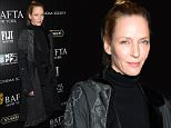 NEW YORK, NY - OCTOBER 02:  Actress Uma Thurman attends the BAFTA New York & The Cinema Society With FIJI Water & St-Germain party for the New York Film Festival at PH-D Terrace at Dream Midtown on October 2, 2015 in New York City.  (Photo by Jamie McCarthy/WireImage)