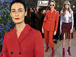PARIS, FRANCE - OCTOBER 02:  Erin O'Connor attends  the Christian Dior show as part of the Paris Fashion Week Womenswear Spring/Summer 2016 on October 2, 2015 in Paris, France.  (Photo by David M. Benett/Dave Benett/Getty Images)