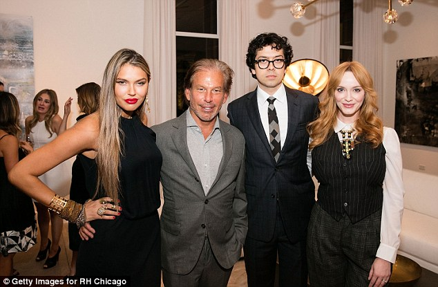 Quite the guestlist! (500) Days of Summer's Geoffrey Arend was another famous face at the soiree