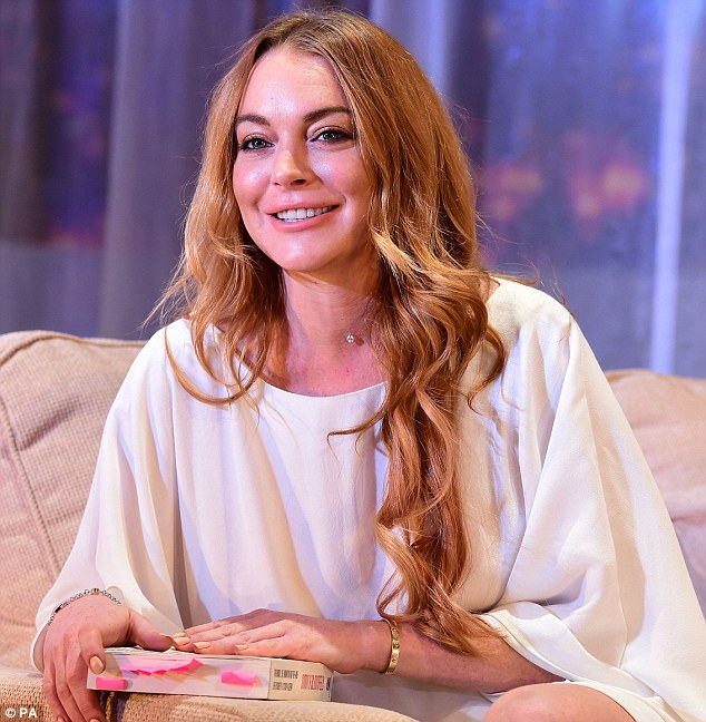 West End debut: Lohan has been living in London for nearly a year now, after moving to the capital to star in her first West End production, Speed The Plow, by David Mamet
