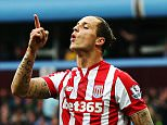 BIRMINGHAM, ENGLAND - OCTOBER 03:  Marko Arnautovic of Stoke City reacts during the Barclays Premier League match between Aston Villa and Stoke City at Villa Park on October 3, 2015 in Birmingham, United Kingdom.  (Photo by Ben Hoskins/Getty Images)