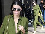 Kendall Jenner leaves her hotel during Paris fashion week spring summer 2015 Paris, October 03 th 2015  Ref: SPL1142335  031015   Picture by: KCS Presse / Splash News  Splash News and Pictures Los Angeles: 310-821-2666 New York: 212-619-2666 London: 870-934-2666 photodesk@splashnews.com