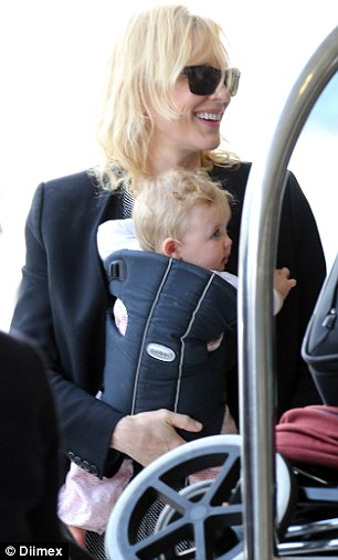 'She's more beautiful in real life' Cate opened up to Sydney Morning Herald a month after Edith's adoption referencing the few photos of the blonde-haired baby that had surfaced to the public