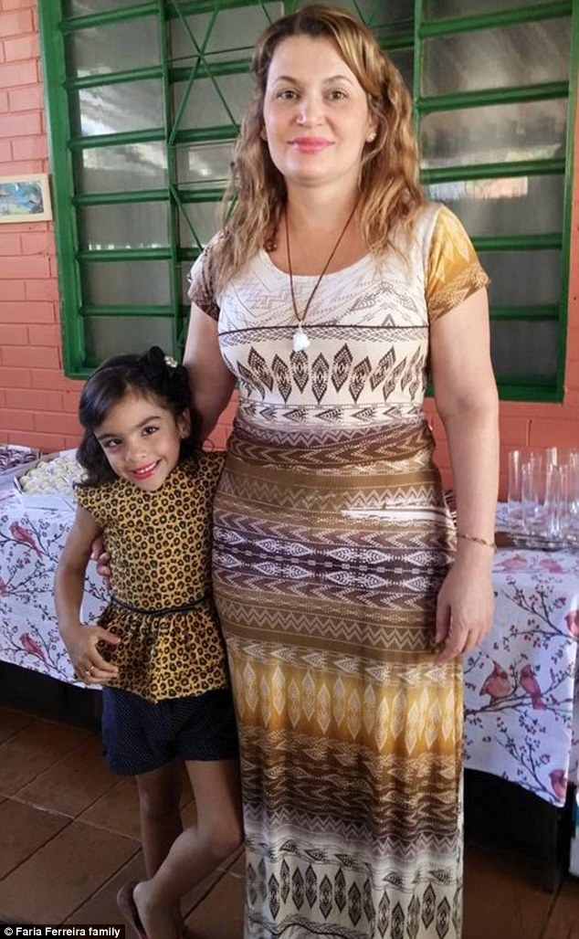 Warning: Many families have stories of tragedy to share, including that of Deise Faria Ferreira (right), who started drinking the tea with her congregation at a Santo Daime church earlier this year