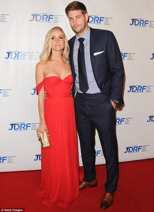 'You gotta have sex': The 28-year-old recently shared her secret to a successful marriage with Jay Cutler. The couple, who tied the knot in 2013, are seen here in May