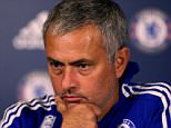 """Chelsea manager Jose Mourinho talks during his press conference. PRESS ASSOCIATION Photo. Picture date: Friday October 2, 2015. See PA Story SOCCER Chelsea. Photo credit should read: PA Wire. RESTRICTIONS: EDITORIAL USE ONLY No use with unauthorised audio, video, data, fixture lists, club/league logos or """"live"""" services. Online in-match use limited to 45 images, no video emulation. No use in betting, games or single club/league/player publications."""