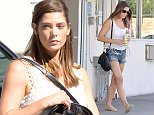 Pictured: Ashley Greene Mandatory Credit © DRILA/Broadimage Ashley Greene pumping gas in Los Angeles  10/2/15, Los Angeles, California, United States of America  Broadimage Newswire Los Angeles 1+  (310) 301-1027 New York      1+  (646) 827-9134 sales@broadimage.com http://www.broadimage.com