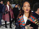 4 October 2015.\nRihanna seen arriving at the Eiffel tower with her mother and brother this evening in Paris.\nCredit: Ben Eade/GoffPhotos.com   Ref: KGC-102\n