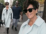 Kris Jenner and Corey Gamble are seen shopping in Paris  Pictured: Kris Jenner,  Corey Gamble Ref: SPL1142319  031015   Picture by: Neil Warner / Splash News  Splash News and Pictures Los Angeles: 310-821-2666 New York: 212-619-2666 London: 870-934-2666 photodesk@splashnews.com