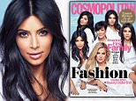 Kardashians and Jenners on the cover of Cosmopolitan