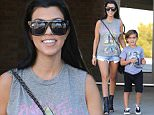 Picture Shows: Kourtney Kardashian, Mason Disick  October 03, 2015\n \n Reality star Kourtney Kardashian spotted taking her son to an office building in Woodland Hills, California.  Kourtney has been busy as of late working on her fitness.\n \n Non Exclusive\n UK RIGHTS ONLY\n \n Pictures by : FameFlynet UK © 2015\n Tel : +44 (0)20 3551 5049\n Email : info@fameflynet.uk.com
