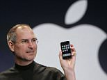 Apple CEO Steve Jobs holds up an Apple iPhone at the MacWorld Conference in San Francisco. Jobs the CEO, Jobs the technologist and futurist, Jobs the inventor and innovator and refiner of others' ideas: All of them, in the end, relied upon another Steve Jobs who sewed the others together and bottled their lightning: Steve Jobs the storyteller, spinning the tale of our age and of his own success, and making it happen as he went.  (AP Photo/Paul Sakuma, File)