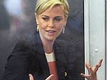 Mandatory Credit: Photo by Buzz Foto/REX Shutterstock (5189258b)  Charlize Theron  'The Today Show', New York, America - 28 Sep 2015