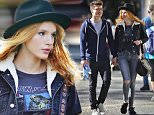Picture Shows: Gregg Sulkin, Bella Thorne  October 05, 2015\n \n Actress Bella Thorne and her boyfriend, fellow actor Gregg Sulkin, are spotted walking hand in hand while out and about in Vancouver, Canada.\n \n The loved-up redheaded star showed off her cool and casual style in a black fedora, a graphic print T-shirt, worn under a denim jacket, blue jeans and a pair of black sneakers.\n \n Exclusive All Rounder\n UK RIGHTS ONLY\n FameFlynet UK © 2015\n Tel : +44 (0)20 3551 5049\n Email : info@fameflynet.uk.com