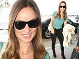 eURN: AD*183521640  Headline: Celebrity Sightings In Los Angeles - October 04, 2015 Caption: LOS ANGELES, CA - OCTOBER 04: Olivia Wilde is seen at LAX on October 04, 2015 in Los Angeles, California.  (Photo by GVK/Bauer-Griffin/GC Images) Photographer: GVK/Bauer-Griffin  Loaded on 05/10/2015 at 02:02 Copyright:  Provider: GC Images  Properties: RGB JPEG Image (18773K 597K 31.5:1) 2067w x 3100h at 300 x 300 dpi  Routing: DM News : GroupFeeds (Comms), GeneralFeed (Miscellaneous) DM Showbiz : SHOWBIZ (Miscellaneous) DM Online : Online Previews (Miscellaneous), CMS Out (Miscellaneous)  Parking: