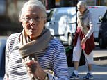 30/09/15. Allrounder 04/10/15. After the news last week that Vanessa Redgrave had a heart attack in April this year, she looks to be getting back to full fitness. She was photographed in sportswear and a tennis racket near her West London home.\\nNoble Draper Pictures.\\n**BYLINE: NOBLE/DRAPER**\\n