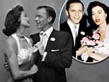 Frank Sinatra and Ava Gardner puff