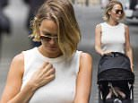 17 SEPTEMBER 2015 SYDNEY \nAUSTRALIA\nEXCLUSIVE PICTURES\nLara Worthington pictured out and about in Double Bay with her baby son Rocket Zot. Lara was in a great mood as she stopped off at a Hair Salon in Bay Street.\n*No web without clearance*\nMUST CALL PRIOR TO USE \n+61 2 9211-1088. \nNote: All editorial images subject to the following: For editorial use only. Additional clearance required for commercial, wireless, internet or promotional use.Images may not be altered or modified. Matrix Media Group makes no representations or warranties regarding names, trademarks or logos appearing in the images.