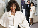 No Repro Fee.\\n05.10.2015.\\nDame Joan Collins and her husband Percy Gibson, pictured at the Museum of Style Icons at Newbridge Silverware, Co. Kildare. The iconic actress was in town to unveil ¿The Collection of Dame Joan Collins¿ which is currently on exhibition at the Museum of Style Icons in conjunction with Julien¿s Auctions of Beverly Hills, showcasing an array of iconic pieces. The collection will be on show at Newbridge from today October 5th until November 8th. Pic. Robbie Reynolds