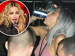 """EXCLUSIVE: **NO USA TV AND NO USA WEB **MINIMUM FEE APPLY** Madonna's daughter, Lourdes is seen drinking beer at the latest Madonna concert in Detroit this week.\nTMZ obtained this pics and were told the 18-year-old Lourdes Leon showed up at Madonna's """"Rebel Heart"""" show Thursday night with a group of her friends and sat down in the front row. It wasn't long after when Lourdes cracked open a cold one and slugged away.\n\nRef: SPL1138542  041015   EXCLUSIVE\nPicture by: TMZ.com / Splash News\n\nSplash News and Pictures\nLos Angeles: 310-821-2666\nNew York: 212-619-2666\nLondon: 870-934-2666\nphotodesk@splashnews.com\n"""