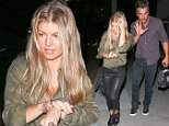 UK CLIENTS MUST CREDIT: AKM-GSI ONLY\nEXCLUSIVE: **SHOT ON 10/2/15** Brentwood, CA - Fergie and Josh Duhamel seen leaving Katsuya restaurant after romantic dinner.  Josh appears to be acting like he has special powers holding his hand up and giving off an intense look of concentration.\n\nPictured: Fergie and Josh Duhamel\nRef: SPL1144054  041015   EXCLUSIVE\nPicture by: AKM-GSI \n\n