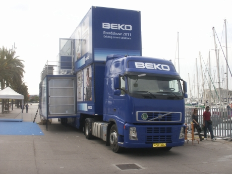 El Road Show de Beko en Barcelona.