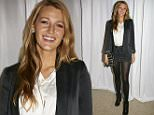 Blake Lively attends A Path Appears screening in Greenwich, Conn., on Oct. 3 to support a good cause Credit: Elaine Ubina