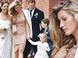 10/04/2015\nExclusive Tom Brady and Gisele Bundchen along with their children attended the Wedding of Tom's sister Nancy Brady to Steve Bonelli in Boston today. The couple were married at Cecilia Parish in downtown Boston on Sunday October 4, 2015. The low key affair looked to be attended by only close friends and family. Afterwards the wedding party headed over to Mooo Restaurant at XV Beacon Hotel in downtown Boston where a sign on the door indicated a Private Party tonight.\nsales@theimagedirect.com Please byline:TheImageDirect.com\n*EXCLUSIVE PLEASE EMAIL sales@theimagedirect.com FOR FEES BEFORE USE
