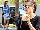 Picture Shows: Alessandra Ambrosio, Noah Ambrosio Mazur  October 05, 2015\n \n Model Alessandra Ambrosio is spotted out and about with her son Noah in Los Angeles, California. Alessandra recently returned from France where she attended various events during Paris Fashion Week.\n \n Non Exclusive\n UK RIGHTS ONLY\n \n Pictures by : FameFlynet UK © 2015\n Tel : +44 (0)20 3551 5049\n Email : info@fameflynet.uk.com
