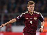 MOSCOW, RUSSIA - SEPTEMBER 05: Alexander Kokorin of Russia in action during the UEFA EURO 2016 Qualifier Group G match between Russia and Sweden at the Arena Otkritie Stadium on September 05, 2015 in Moscow, Russia.  (Photo by Epsilon/Getty Images)