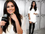 NEW YORK, NY - OCTOBER 05:  Actress Shay Mitchell attends AOL Build at AOL Studios on October 5, 2015 in New York City.  (Photo by Daniel Zuchnik/WireImage)