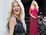 6.OCT.2015 - PARIS - FRANCE VICTORIA SILVSTEDT POSES AT THE BALCONY OF THE PRINCE DE GALLES HOTEL DURING PARIS FASHION WEEK! BYLINE MUST READ : E-PRESS / XPOSUREPHOTOS.COM *AVAILABLE FOR UK SALE ONLY* ***UK CLIENTS - PICTURES CONTAINING CHILDREN PLEASE PIXELATE FACE PRIOR TO PUBLICATION ****** **UK CLIENTS MUST CALL PRIOR TO TV OR ONLINE USAGE PLEASE TELEPHONE  44 208 344 2007 ***