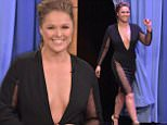 """eURN: AD*183730146  Headline: Ronda Rousey Visits """"The Tonight Show Starring Jimmy Fallon"""" Caption: NEW YORK, NY - OCTOBER 06:  Ronda Rousey Visits """"The Tonight Show Starring Jimmy Fallon"""" at Rockefeller Center on October 6, 2015 in New York City.  (Photo by Theo Wargo/NBC/Getty Images for """"The Tonight Show Starring Jimmy Fallon"""") Photographer: Theo Wargo/NBC  Loaded on 07/10/2015 at 00:27 Copyright: Getty Images North America Provider: Getty Images North America  Properties: RGB JPEG Image (17579K 1070K 16.4:1) 2000w x 3000h at 300 x 300 dpi  Routing: DM News : GeneralFeed (Miscellaneous) DM Sport : Online Sport Pix (Miscellaneous) DM Showbiz : SHOWBIZ (Miscellaneous) DM Online : Online Previews (Miscellaneous), CMS Out (Miscellaneous)  Parking:"""