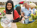 Great British Bake off winner Nadiya Jamir Hussain.