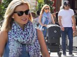 EXCLUSIVE: Katherine Jenkins beams as she steps out with new daughter Aaliyah Reign Levitas in New York City. The Welsh singer was joined by her husband, artist Andrew Levitas, and their midwife, as she took her days-old daughter out for a walk around the neighbourhood in sunny lower Manhattan. Earlier, Mr Levitas had been seen arriving home from hospital, when flowers were delivered to the couples apartment building.