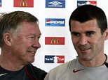 Manchester United manager Sir Alex Ferguson and captain Roy Keane. Sir Alex Ferguson has lifted the lid on his feud with Roy Keane, with the Scot claiming his authority at Manchester United would have been undermined had he not sold the increasingly volatile player in 2005.    File photo dated 18/05/2005 of Manchester United manager Sir Alex Ferguson and captain Roy Keane. PRESS ASSOCIATION Photo. Issue date: Tuesday October 22, 2013. Sir Alex Ferguson has lifted the lid on his feud with Roy Keane, with the Scot claiming his authority at Manchester United would have been undermined had he not sold the increasingly volatile player in 2005. See PA story SOCCER Ferguson Keane. Photo credit should read: Phil Noble/PA Wire