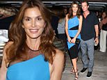 "MIAMI BEACH, FL - OCTOBER 6:  Rande Gerber and Cindy Crawford are seen at Cindy Crawford's ""Becoming"" book celebration at 1 Hotel on October 6, 2015 in Miami Beach, Florida.  (Photo by Alexander Tamargo/Getty Images)"