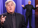 THE TONIGHT SHOW STARRING JIMMY FALLON -- Episode 0344 -- Pictured: Comedian Jay Leno during the monologue on October 6, 2015 -- (Photo by: Douglas Gorenstein/NBC/NBCU Photo Bank via Getty Images)