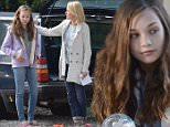 """Picture Shows: Maddie Ziegler, Naomi Watts  October 07, 2015\n \n Stars seen on location for the film """"The Book of Henry"""" in New York, New York. \n \n Non-Exclusive\n UK RIGHTS ONLY\n \n Pictures by : FameFlynet UK © 2015\n Tel : +44 (0)20 3551 5049\n Email : info@fameflynet.uk.com"""