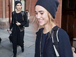 8 Oct 2015 - LONDON - UK  SUKI WATERHOUSE PICTURED ARRIVING WITH EUROSTAR FROM PARIS  BYLINE MUST READ : XPOSUREPHOTOS.COM  ***UK CLIENTS - PICTURES CONTAINING CHILDREN PLEASE PIXELATE FACE PRIOR TO PUBLICATION ***  **UK CLIENTS MUST CALL PRIOR TO TV OR ONLINE USAGE PLEASE TELEPHONE   44 208 344 2007 **