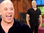 """MIAMI, FL - OCTOBER 07:  Vin Diesel  is on the set Of Univisions """"Despierta America"""" to promote the film """"The Last Witch Hunter""""at Univision Studios on October 7, 2015 in Miami, Florida.  (Photo by Gustavo Caballero/WireImage)"""