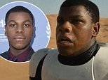 \nShare\nTweet\n220\n\nShop ?\nIn case you haven¿t heard, John Boyega plays a black First Order Stormtrooper in The Force Awakens. And, according to the actor, detractors need to ¿get used to it.¿ As Boyega told V Magazine in a recent interview: ¿I¿m in the movie, what are you going to do about it?¿\n\nThere has always been some concern about a lack of color¿outside of Lando Calrissian, Willrow Hood, and Grizz Frix¿in the original Star Wars trilogy. (Director John Landis even asked George Lucas, ¿George, is everybody in outer space white?,¿ after seeing Star Wars for the first time.) There was an attempt to rectify this in the prequel trilogy, but The Force Awakens, as well as Rogue One, appear to be introducing more major characters of color and icky girls into lead roles. ¿I¿m not saying get used to the future,¿ Boyega continues, ¿but what is already happening. People of color and women are increasingly being shown on screen. For things to be whitewashed just doesn¿t make any sense.