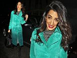 Mandatory Credit: Photo by Beretta/Sims/REX Shutterstock (5225209i)\n Amal Clooney\n Amal Clooney out and about, London, Britain - 07 Oct 2015\n Mohamed Fahmy and Amal Clooney in Conversation\n