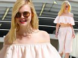eURN: AD*183846542  Headline: Elle Fanning Bares Her Midriff While Out With Friends in Hollywood Caption: October 7, 2015: Elle Fanning bares her midriff in a two-piece dress while out with friends in Hollywood, California. Mandatory Credit: Lek/INFphoto.com Ref: infusla-294 Photographer: infusla-294 Loaded on 07/10/2015 at 23:07 Copyright:  Provider: Lek/INFphoto.com  Properties: RGB JPEG Image (3199K 1203K 2.7:1) 853w x 1280h at 300 x 300 dpi  Routing: DM News : GroupFeeds (Comms), GeneralFeed (Miscellaneous) DM Showbiz : SHOWBIZ (Miscellaneous) DM Online : Online Previews (Miscellaneous), CMS Out (Miscellaneous)  Parking: