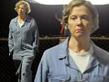 """Actress Annette Bening wears a vintage jumpsuit for a late night scene on the set of """"20th Century Women"""" filming in Pasadena.\nFeaturing: Annette Bening\nWhere: Pasadena, California, United States\nWhen: 07 Oct 2015\nCredit: Cousart/JFXimages/WENN.com"""