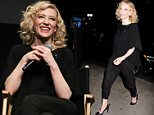 """Celebrities arrives to the """"Truth"""" Q&A.  Held @ New York Institute of Technology, New York City, NY. October 7, 2015. \n\nPictured: Cate Blanchett\nRef: SPL1145893  071015  \nPicture by: Photo Image Press / Splash News\n\nSplash News and Pictures\nLos Angeles: 310-821-2666\nNew York: 212-619-2666\nLondon: 870-934-2666\nphotodesk@splashnews.com\n"""