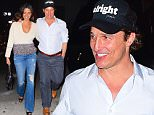EXCLUSIVE: Matthew McConaughey and his wife Camila Alves were spotted on a Late night Romantic Stroll in NYC on Thursday. The couple were spotted on a rare date without their kids. They walked arm in arm and even shared a kiss as they walked home from Dinner at Nobu in Tribeca.\n\nPictured: Matthew Mcconaughey, Camila Alves\nRef: SPL1146382  071015   EXCLUSIVE\nPicture by: 247PAPS.TV / Splash News\n\nSplash News and Pictures\nLos Angeles: 310-821-2666\nNew York: 212-619-2666\nLondon: 870-934-2666\nphotodesk@splashnews.com\n