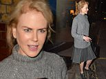OIC - PHOTOBEATIMAGES.COM  -\nNicole Kidman seen leaving the Noel Coward Theatre after her performance in 'Photograph 51' in London, England on the 7th October 2015.\nPhoto: James Warren-Photobeat Images/OIC 07732 500674 -  0203 174 1069