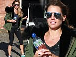 ***BYLINE: MELMEDIA***\nFormer WAG Danielle Lloyd is seen leaving her  gym and popping into her local health spa with her make up artist friend Keshia Golbourne @caramackesh. \nDanielle has recently tweeted about doing an 8 Week Challenge and getting even fitter than she already is. 08/10/15\n***BYLINE: MELMEDIA***\nPLEASE NOTE ALL SALES WILL BE HANDLED BY MELANIE WHITEHEAD at MELMEDIA PLEASE CONTACT MELANIE WHITEHEAD on 07711700105 e-mail: mel.media.123@gmail.com\n